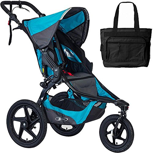 BOB Revolution Revolution Pro Jogging Stroller With Bag Lagoon by BOB
