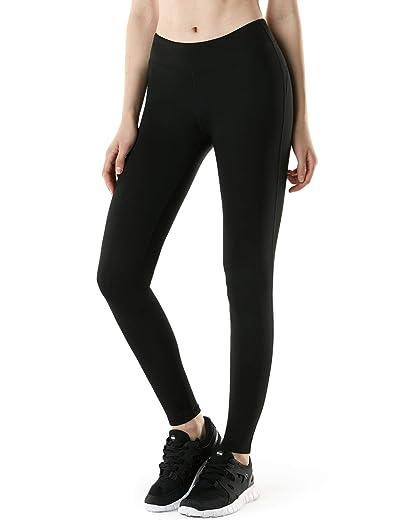 TSLA 1 or 2 Pack Women's Thermal Yoga Pants