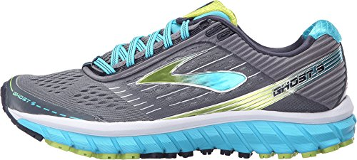 Silver Blue Atoll Lime Punch Women S Ghost  Running Shoes