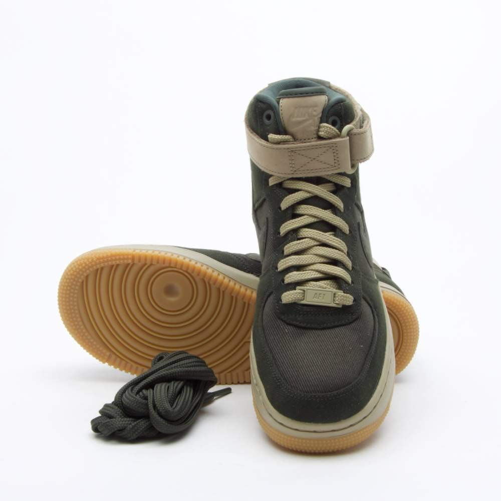 super popular f1e7e be1cf Galleon - Nike Women s Air Force 1 Hi UT Basketball Shoes, AJ2775 300  Sequoia Sequoia-Neutral Olive (7 B(M) US)