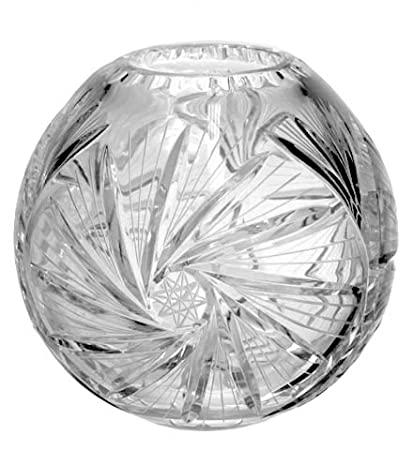 Amazon Pinwheeel Crystal Rose Bowl 4 Inches Home Kitchen