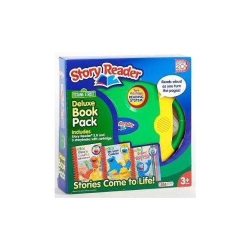 Story Reader Deluxe 2.0 3-Pack Sesame Street Box Set