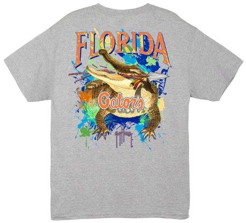 Guy Harvey College UF Gators Grey T-Shirt GREY ()