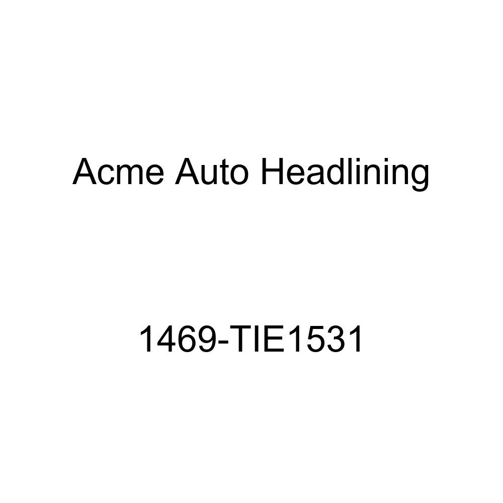 Acme Auto Headlining 1469-TIE1531 Chamois Replacement Headliner 1957 Chevrolet Bel Air /& Two-Ten 2 /& 4 Dr Wagon 9 Bow