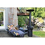 Q-Stoves Wood Pellet Outdoor Heater, Q-Flame