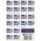 USPS US Flag 2019 Forever First Class Postage Stamps (Book of 20)
