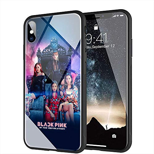 buy popular 224f2 22d02 BLACKPINK Tempered Glass Case – BLACKPINK MERCH