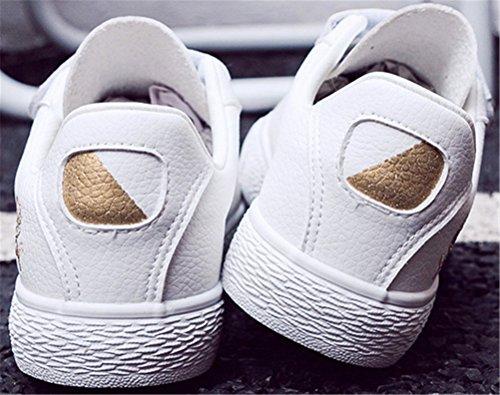 Sneakers Satuki Fashion Da Donna, Scarpe Sportive Sportive Piatte Casual Comfort E Plissé