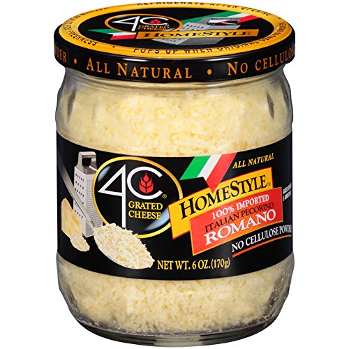 4C HomeStyle Romano Grated Cheese 6 oz. (Pack of 3)