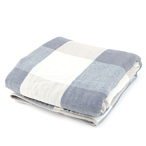 eDealMax KUTTO autoris cotonnades Motif Lattice Accueil Wash Serviette de bain 140cm x 70cm