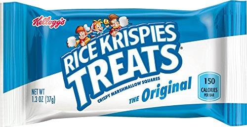 Rice Krispies Treats Crispy Marshmallow Squares, 1.3 oz (Pack of 40)