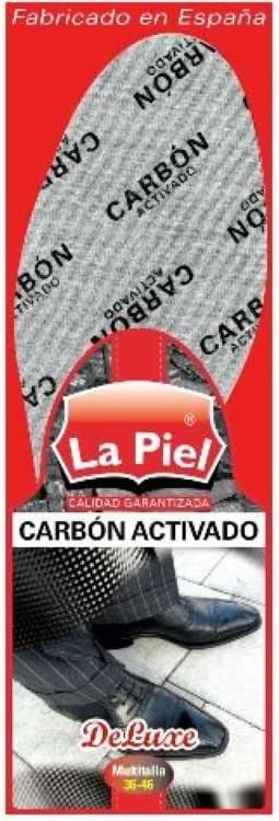 Plantillas Zapatos La Piel Carbon Activado Multitalla: Amazon.es: Hogar