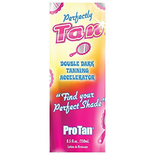 ProTan Perfectly Tan Double Dark Tan Accelerator Sunbed Tanning Lotion 22ml Sachet by Unknown