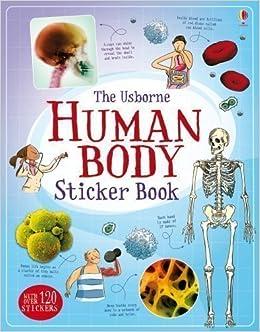 Human Body Sticker Book (Usborne Sticker Books) by Alex Frith (2013)