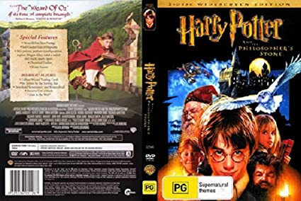 Harry Potter and the Philosophers Stone Widescreen, 2 Disc ...