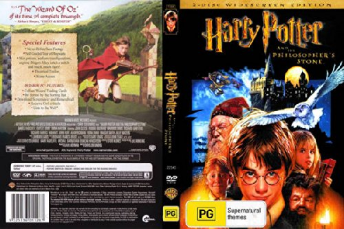 Harry potter philosophers stone dvd