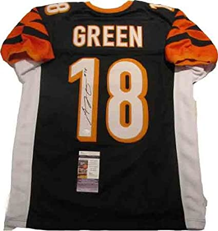 AJ Green Autographed Signed Cincinnati Jersey at Amazon's Sports ...