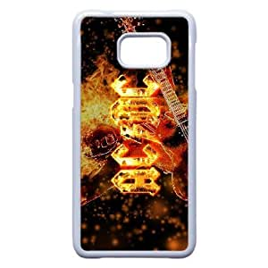 Samsung Galaxy Note 5 Edge Cell Phone Case White ACDC Plastic Durable Cover Cases swxc5068964