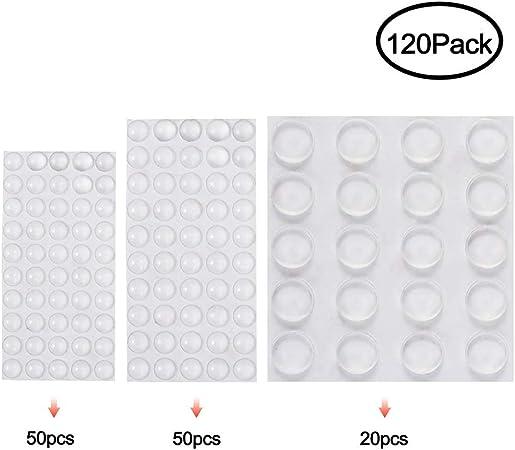 homeXpert But/ées /élastiques protectrices auto-adh/ésives 1cm Transparent