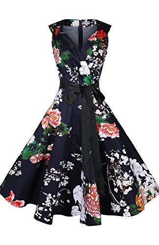 1960s Floral Dress - 3