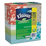 Kleenex 25834CT Lotion Facial Tissue, 2-Ply, 75 per Box (Case of 8 Boxes)