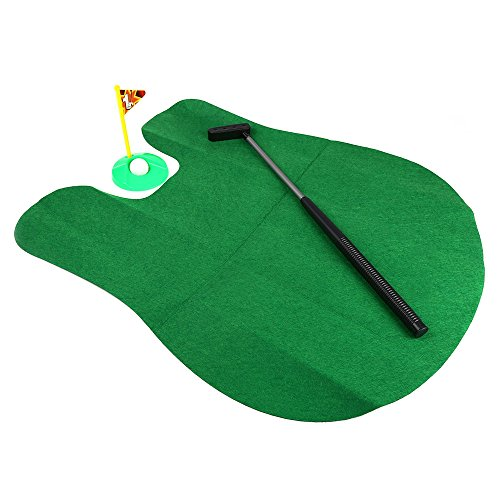 YOOYOO Potty Putter Toilet Golf Game Indoor Fun Game Interesting Time