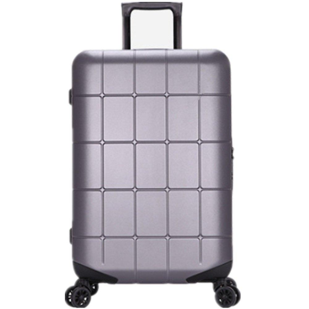 荷物ケース, スーツケース, トロリーボックスメンズアルミボックスの荷物の女の子韓国のバージョン28のスーツケースのパスワードボックス20インチ 荷物エアボックススーツケース (サイズ : 24) B07SQWC8JJ  24