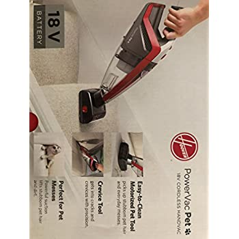 Amazon Com Hoover High Performance Powervac Pet 18 Volt