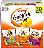Pepperidge Farm Goldfish Crackers Say Cheeeese Variety with Cheddar