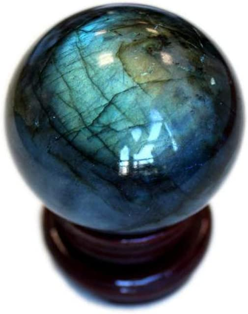 Natural Crystal Dalmation Crystal Ball Reiki Gemstone Sphere Ball for Healing and Meditation 45-50 MM