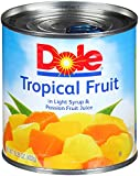 Dole Tropical Fruit in Light Syrup and Passion Fruit Juice, 15.25 Ounce (Pack of 12)