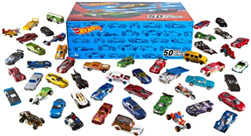 Hot Wheels Basic Car 50-Pack Styles May Vary (Best Lamborghini Car In The World)