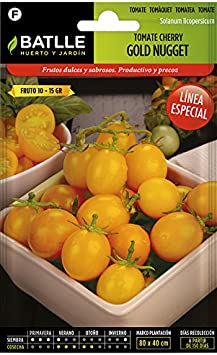 Semillas Hortícolas - Tomate amarillo Golden Nugget - Batlle