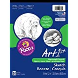 Pacon Art1St Sketch Pad, 9-Inchx12-Inch, White, 50-Sheet