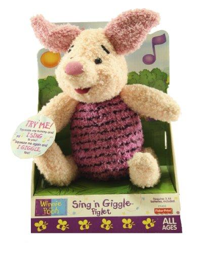 Fisher Price Pooh Sing N Giggle Piglet