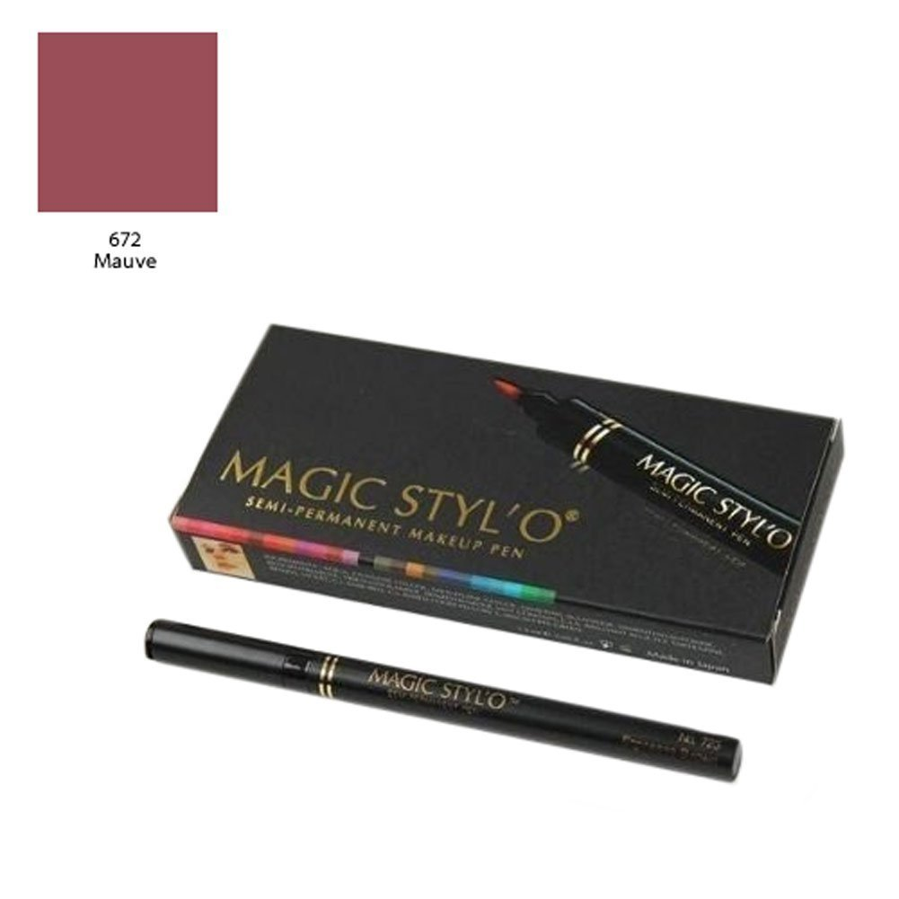 Magic Stylo Semi Permanent Makeup Pen in Black Velvet with Remover Pen O HUI Miracle Aqua Mist By Ohui