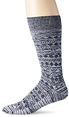 Calvin Klein Men's Cyril Winter Texture Crew Sock