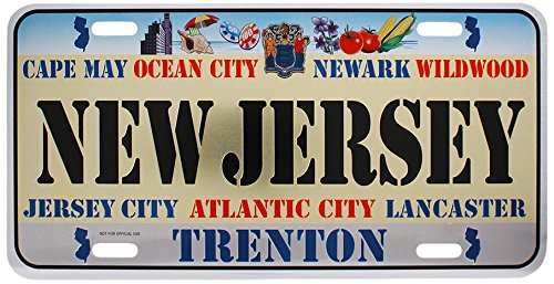 (Dimension 9 Home Decorative Plate, New Jersey)