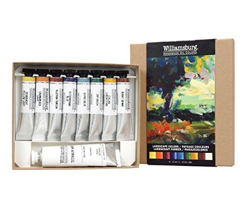 Williamsburg Oil Landscape Colors Set
