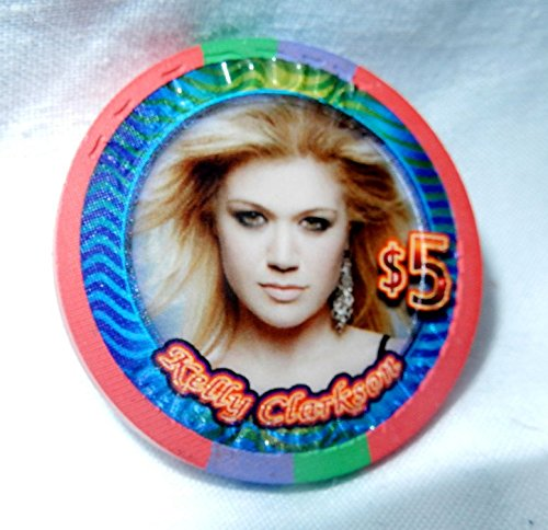 Kelly Clarkson (Cancelled) Concert $5 Aladdin/Planet Hollywood Casino/Poker Chip Las Vegas Uncirculated September 2005