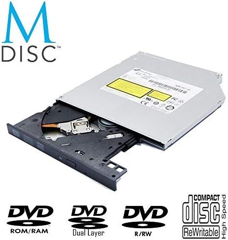 純正HPノートパソコン内蔵8X DVD+-RW/R DL M-ディスクバーナー、LG HL-DT-ST DVDRAMGUD0N、Super Multi 24X CD-Rライター、SATA 9.5mm トレーロードスリムSATA光学ドライブ交換用。