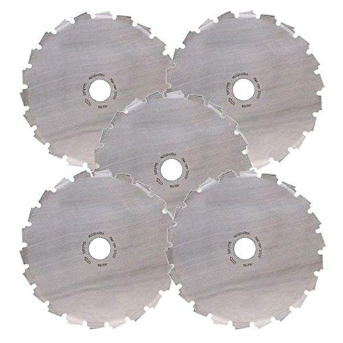 "Set Of 5 Husqvarna Scarlett 200-22t Wood Cutting Clearing Saw Blades 8"" 22 Tooth"