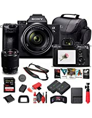 $2199 » Sony Alpha a7 III Mirrorless Digital Camera with 28-70mm Lens (ILCE7M3K/B) + 64GB Memory Card + NP-FZ-100 Battery + Corel Photo Software + Case + External Charger + Card Reader + More (Renewed)