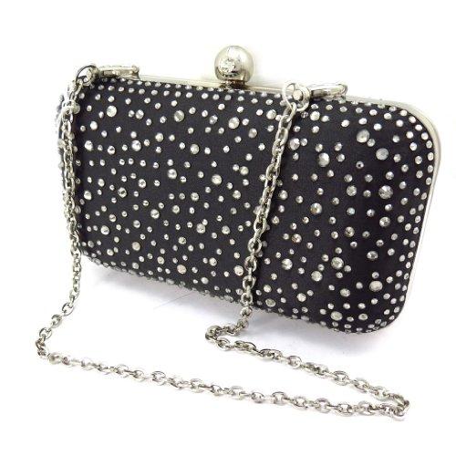 Bolso negro de la bolsa 'Scarlett' qfvAq
