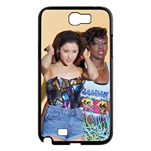 D-PAFD Diy Phone Case Ariana Grande Pattern Hard Case For Samsung Galaxy Note 2 N7100