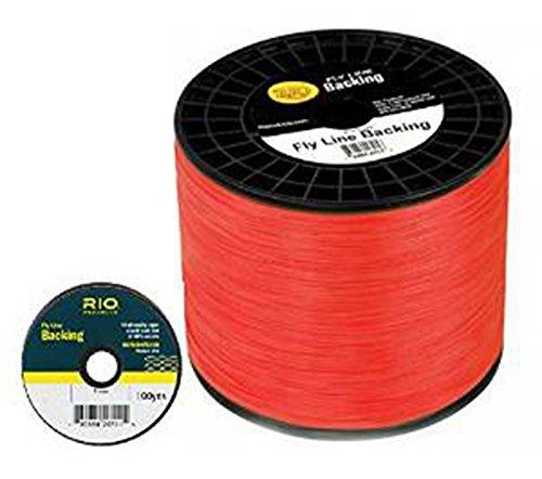 Rio Fly Line Backing、ダクロン、30 lbテスト、オレンジ – 100、150、200、250、300、400、600 up to 5000ヤード B00SEOYV6I 100 yds