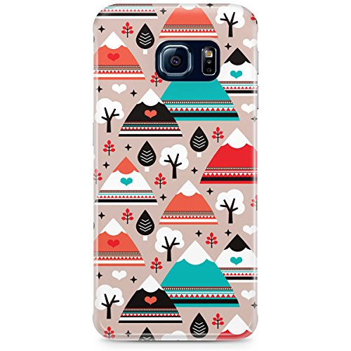 Phone Case For Apple iPhone 5C - South Western Mountain Ranges Back Wrap-Around