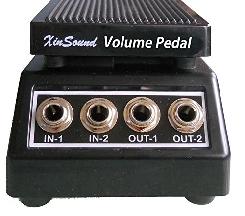XIN SOUND VP-109 PASSIVE (NO POWER REQUIRED) VOLUME PEDAL DUAL OUTPUTS NEW!