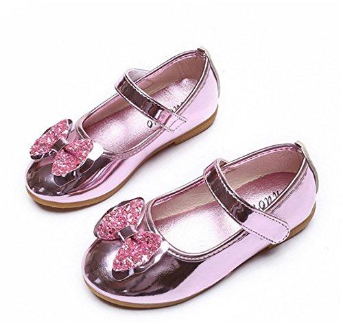 Children Shoes Girls Shoes Cute Bow Princess Kid Single Flats Shoes Girls 03 3