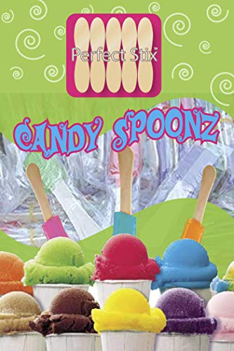 Perfect Stix 4'' Snow Cone Candy Spoon 120ct]()